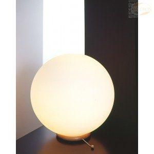 Bordlampe, Kule med bøketresfot, 35 cm, 40 W