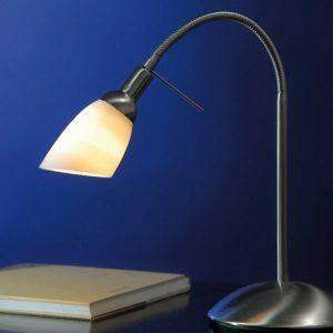 Lysdusj bordlampe, skjermet