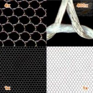 Skjermende stoff, PERSPECTIVE, HF/LF, bobbinett (1,8 m bredde)
