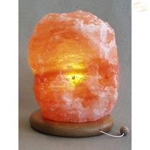 Saltkrystallampe skjermet min.4kg krystall, 2m strømkabel, E