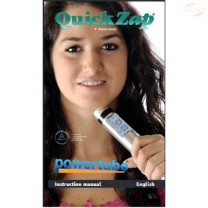 QuickZap manual på engelsk