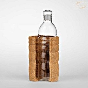 Natures Design drikkeflaske i glass LAGOENA  500ml
