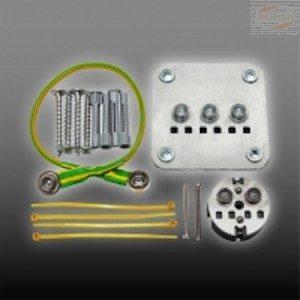 Jordingssett ESW+  (ESW+ tilkobbling til CEE-7/4 stigk.)