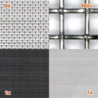 Finmasket netting stål