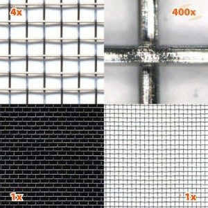 Shielding netting HEG10 (stainless steel)