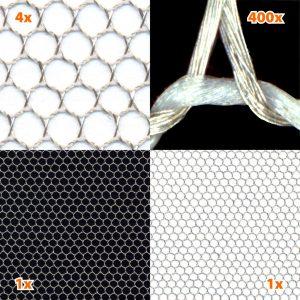 Skjermende stoff, gjennomsiktig PERSPECTIVE, HF/LF (2,5 m bredde)