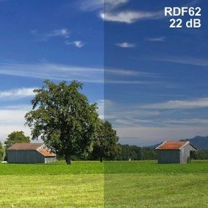 Abschirmende Fensterfolie RDF62 | Breite 152 cm | 1 Laufmeter