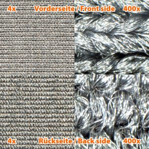 Skjermende stoff SILVER ELASTIC HF/LF  1,6 m