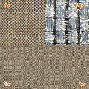 Skjermende stoff Silver Silk, HF/ LF  (1,3 m bredde)