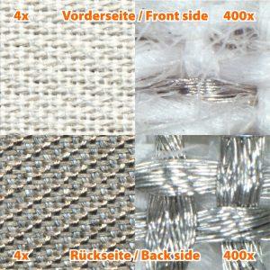 Skjermende stoff SILVER TWIN, HF/LF 1,5 m
