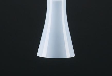 Pendelleuchte Toskana lindgrün glänzend, (d=20 H=31cm), inkl.41-7600