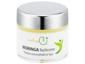 MoringaGarden's night cream for dry skin