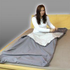 Skjermende sovepose av Steel Grey TSB