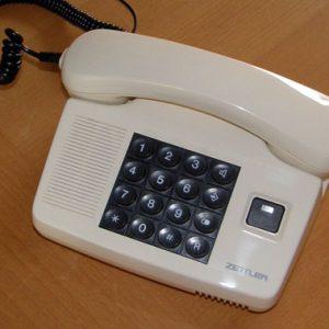 Piezo telephone DSC