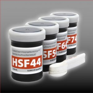 Sample set HF shielding paints | 4 x 0.1 liter