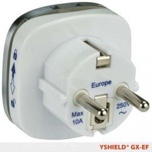 Jordingsplugg Klassisk GX-EF  til flyttbare produkter (tepper, baldakiner mm)