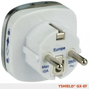 Erdungsstecker GX-EF (Typ EF, CEE 7/7)
