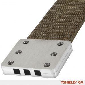 Grounding plate Velcro GV