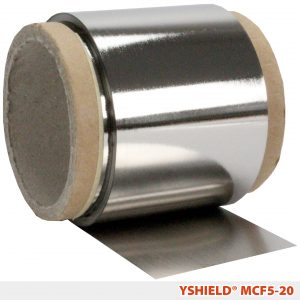 YSHIELD® Mumetall – shielding film MCF5 | MF | Width 5 cm | 20 meter