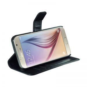 "Flip-side mobildeksel ""Fashion"" til Samsung S7 – Svart – 86% beskyttelse (RAD104)"