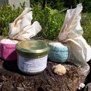 Sheabutter salve med aloe vera og arganolje