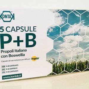 Propolis kapsler med Boswellia til Propolair P+B